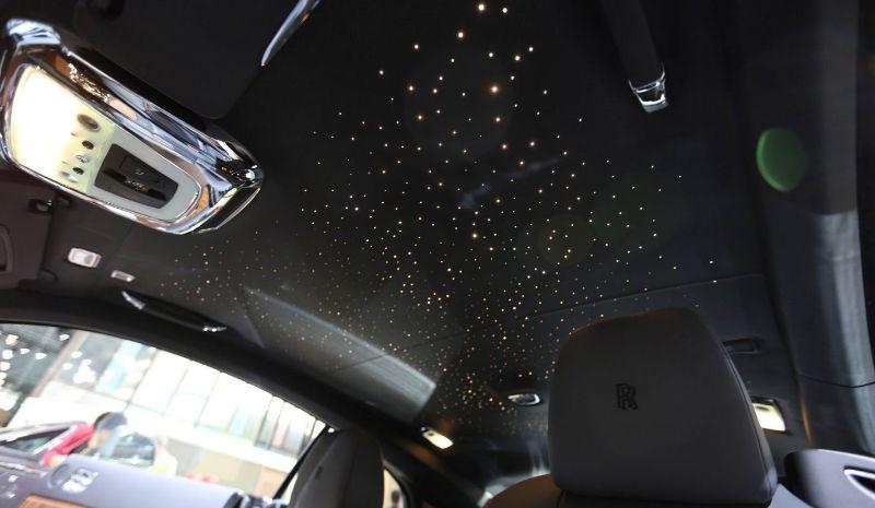 Потолок звездное небо в авто