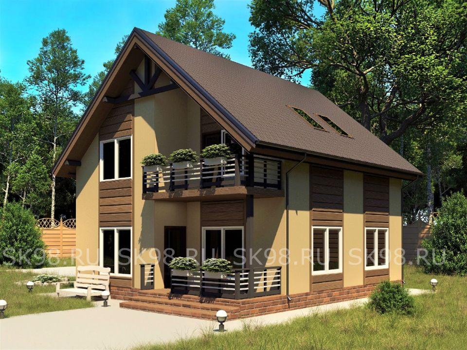 дом в скандинавском стиле - TWO 118