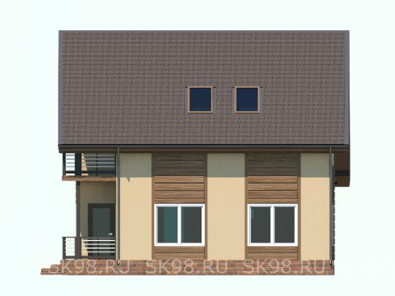 дом с мансардой TWO 118