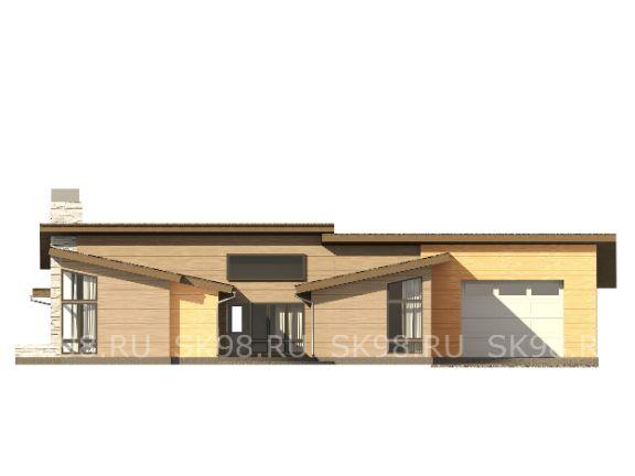 одноэтажный дом с гаражом ONE 183