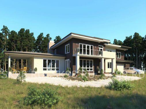 TWO 312 - проект двухэтажного дома