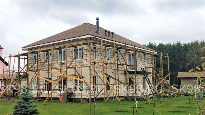 реконструкция дома из газобетона