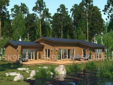 проект финского одноэтажного дома