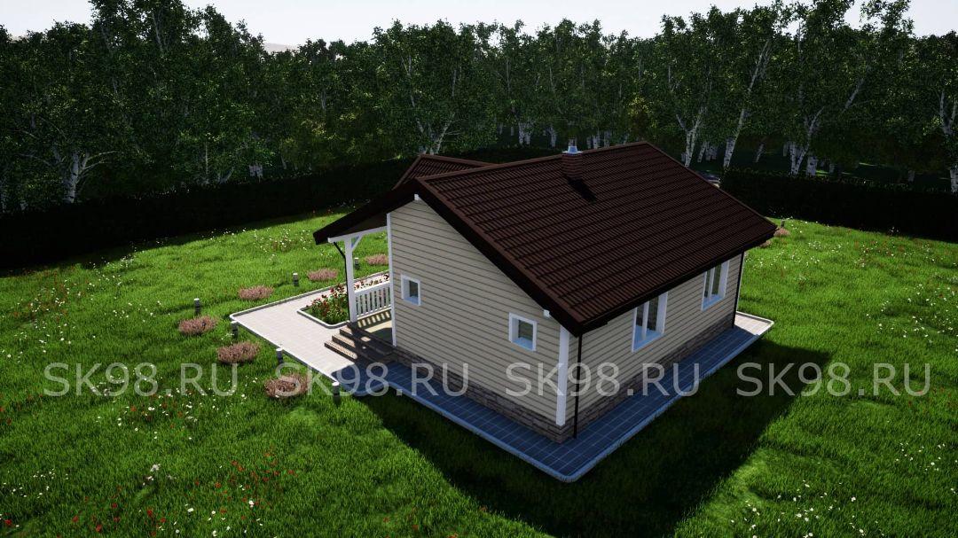 проект дома ONE 58