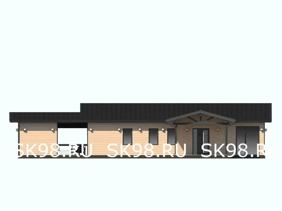фасад дома ONE 123