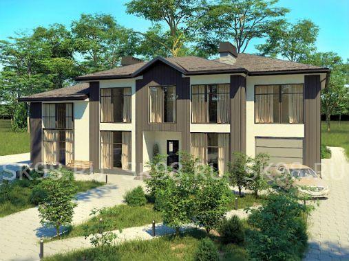 TWO 306 - проект двухэтажного дома