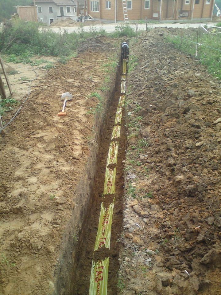 прокладка газопровода к частному дому,подключение газа к частному дому ленинградская область