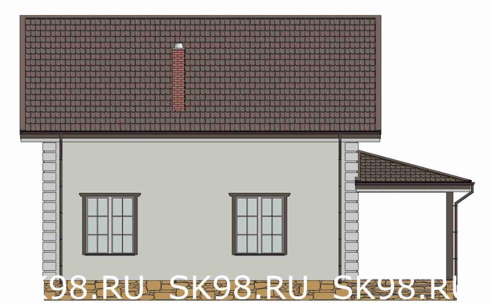 фасад дома TWO 148