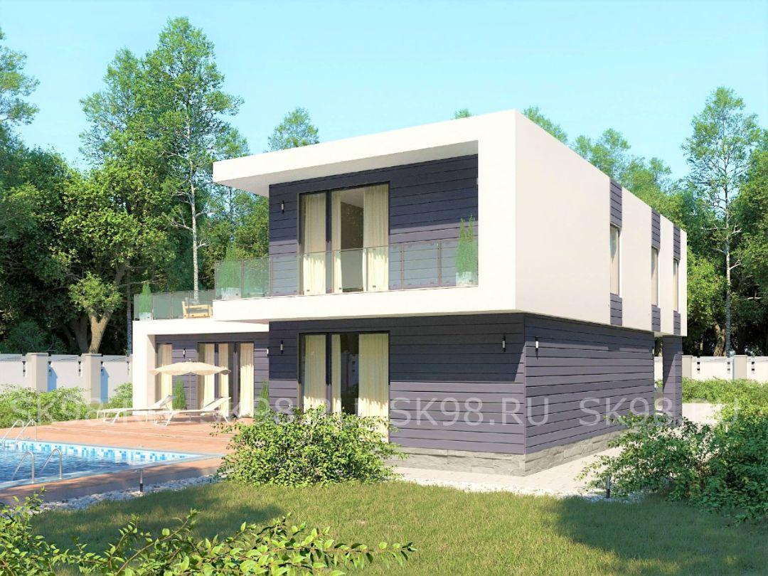 проект дома TWO 204