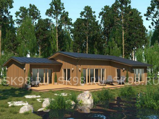ONE 134 - проект одноэтажного дома