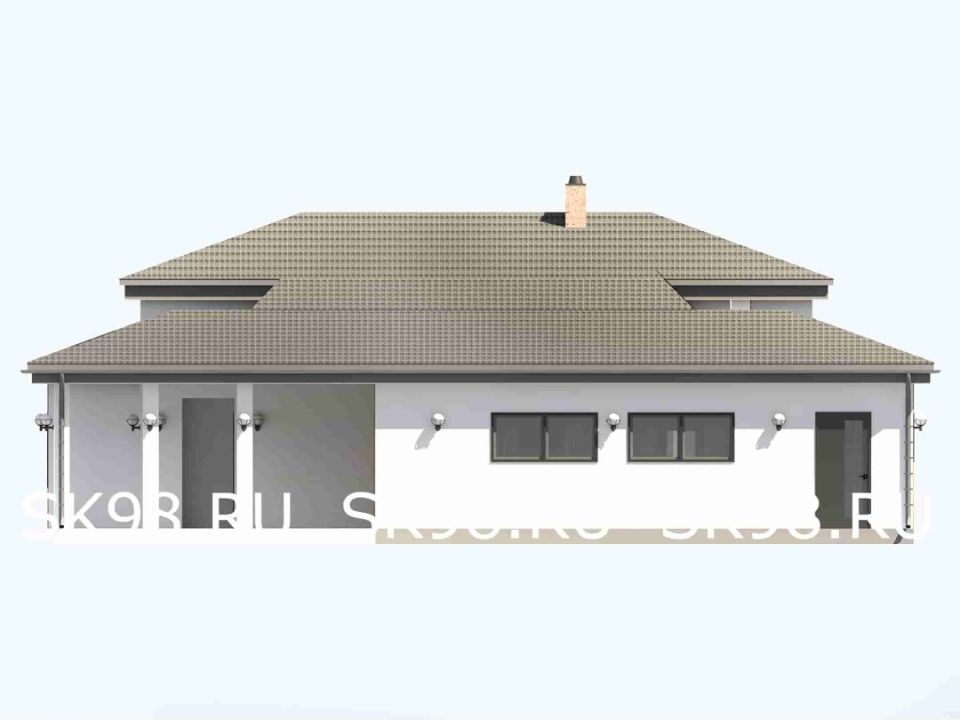 фасад дома ONE 146