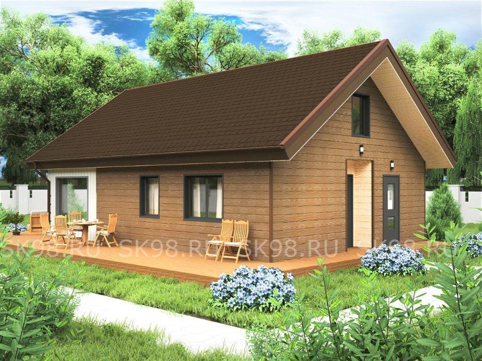 дом с лофтом - LOFT 87
