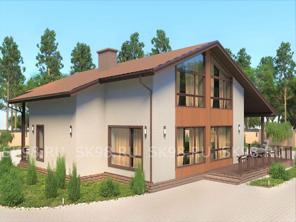 дом 200 кв м проект - TWO 206