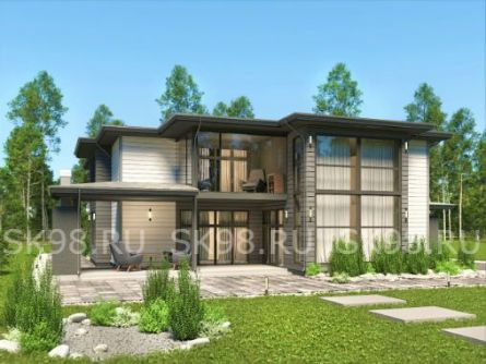 проект большого дома 700м²