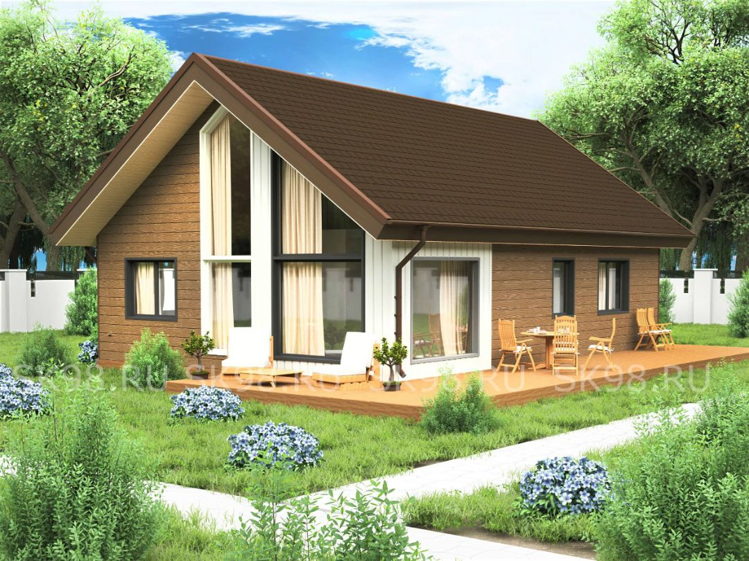 проект дома LOFT 87