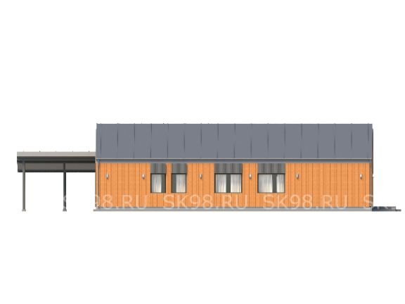 одноэтажный дом ONE 144