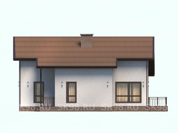 дом с мансардой TWO 206