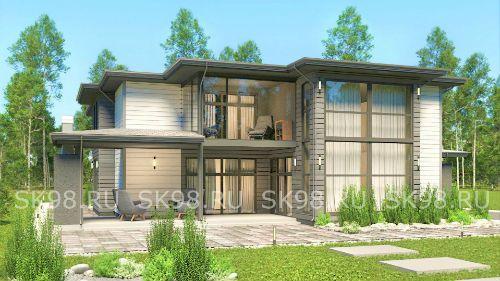 проект большого дома 700 м²