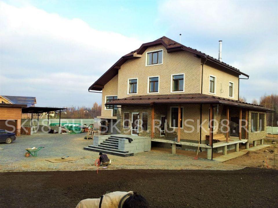 газобетонный дом