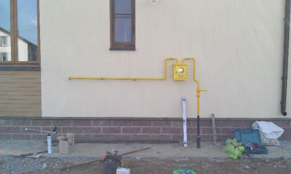 прокладка газопровода к частному дому, подключение газа к частному дому ленинградская область