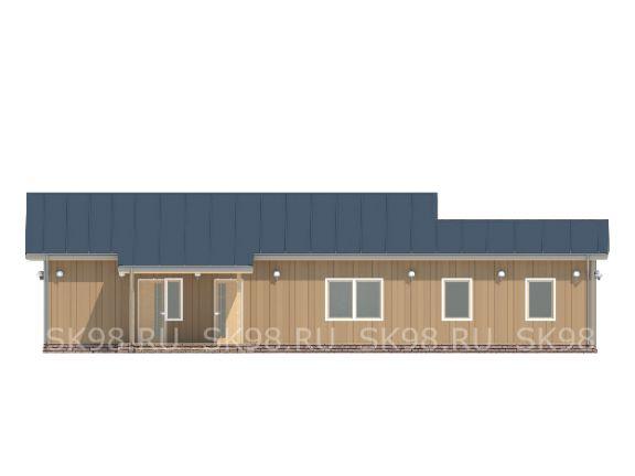 одноэтажный дом ONE 134