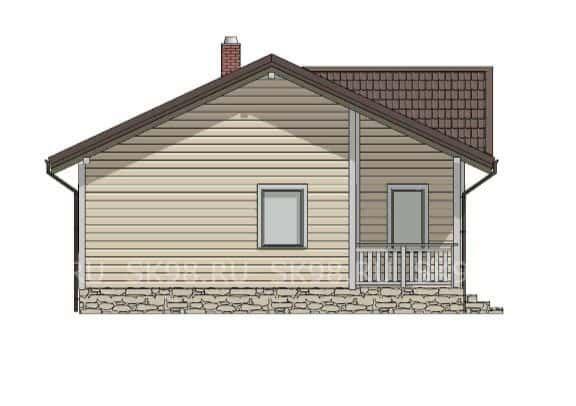 одноэтажный дом ONE 58