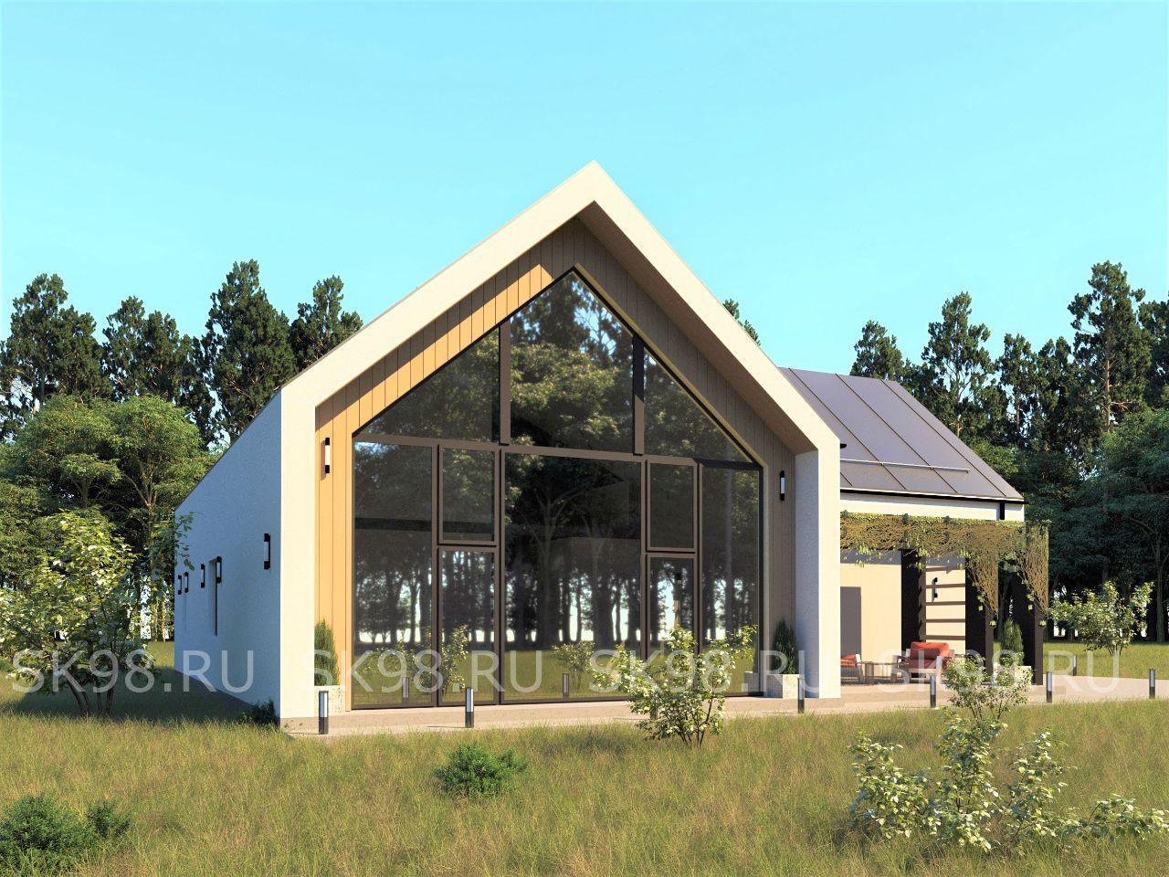 дом в стиле барнхаус - TWO 247