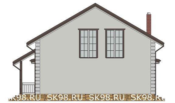 дом с мансардой TWO 148