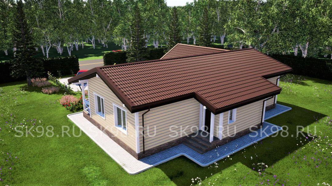 проект дома ONE 84