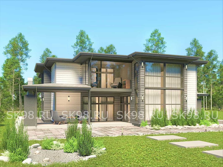 большой двухэтажный дом 700 м2 - TWO 478