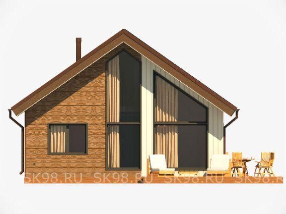дом с лофтом LOFT 87