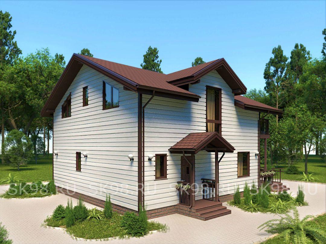 проект дома TWO 129