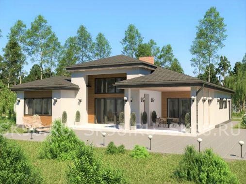 ONE 146 - проект одноэтажного дома