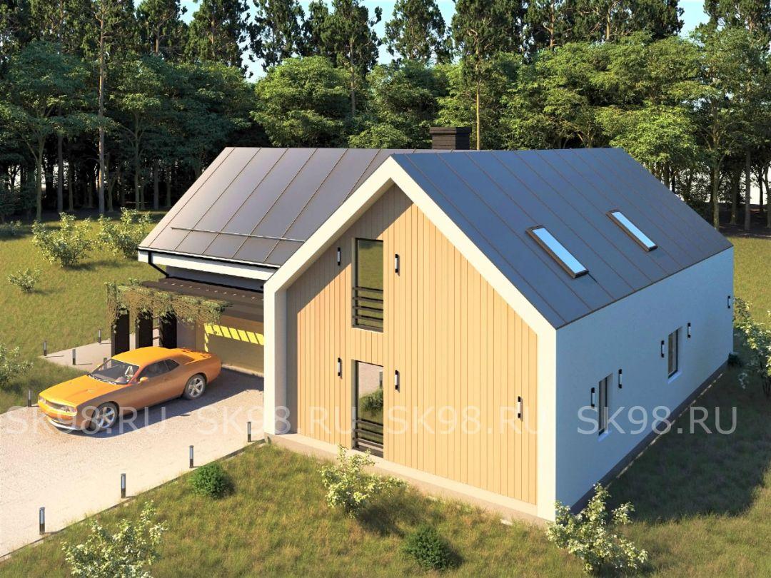проект дома TWO 247