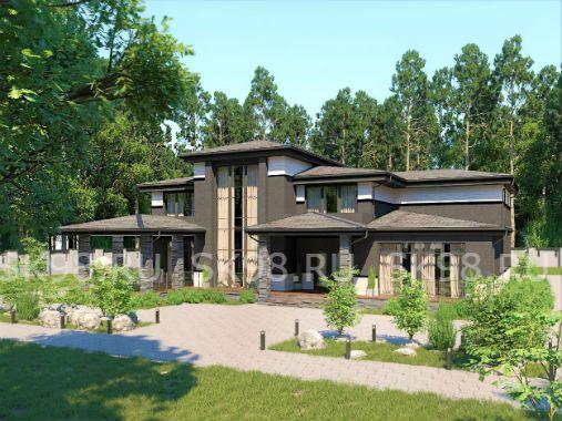 TWO 344 - проект двухэтажного дома