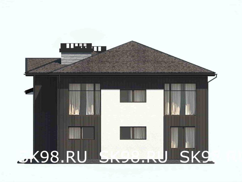 фасад дома TWO 306