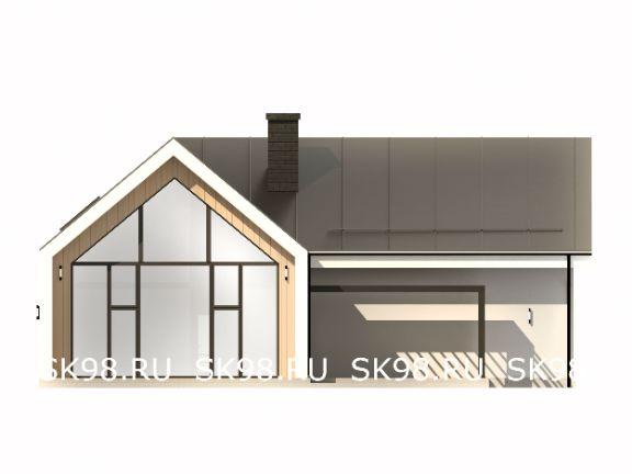 дом в стиле барнхаус TWO 247