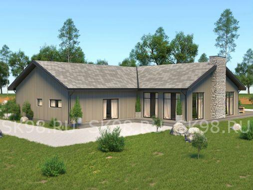 ONE 221 - проект одноэтажного дома