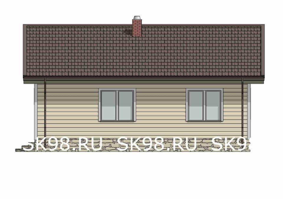 фасад дома ONE 58
