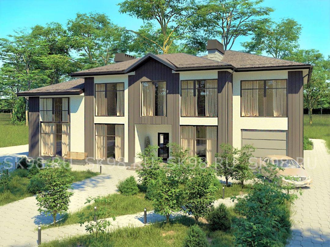 проект дома TWO 306