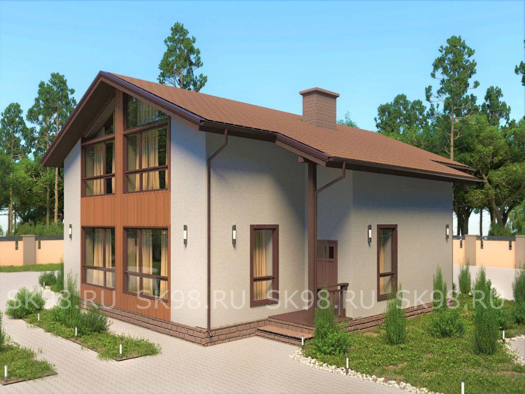 проект дома TWO 206
