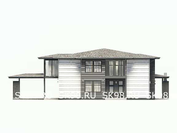 большой двухэтажный дом TWO 478