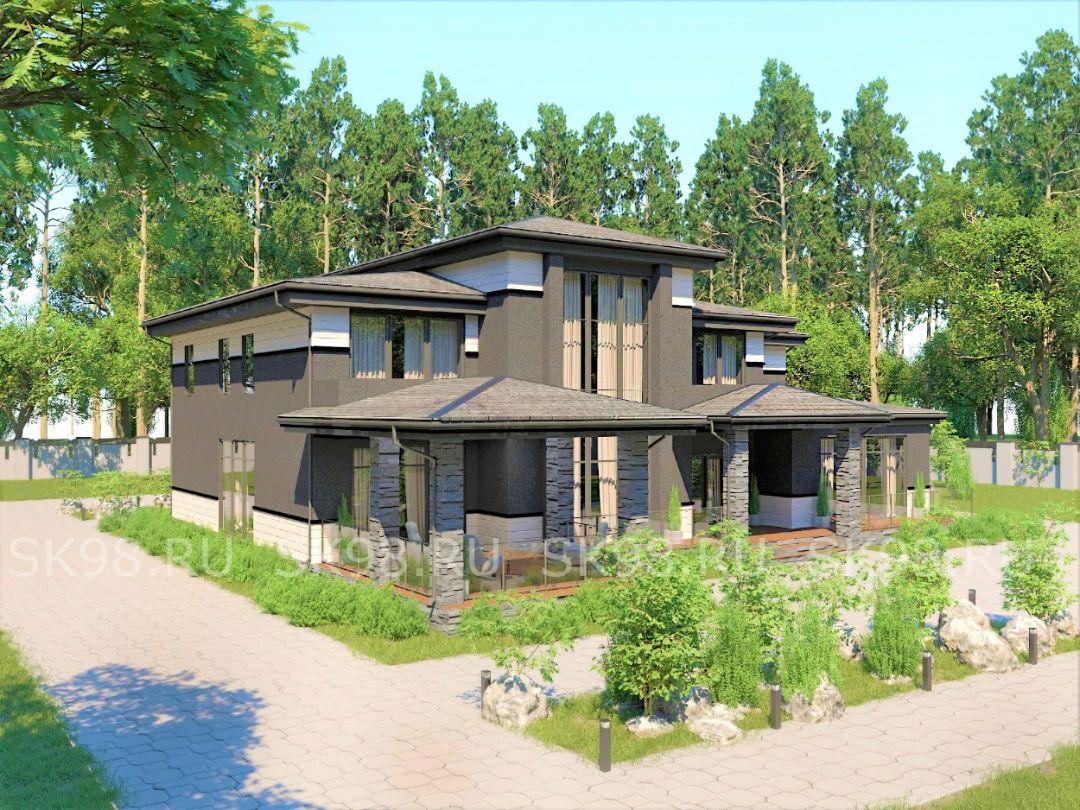 проект дома TWO 344