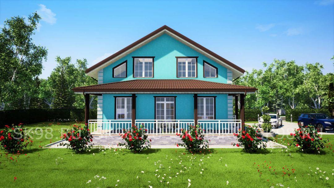 проект дома TWO 148