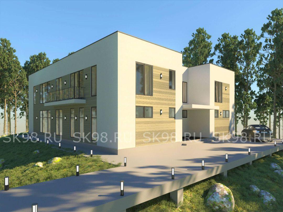 проект дома TWO 423