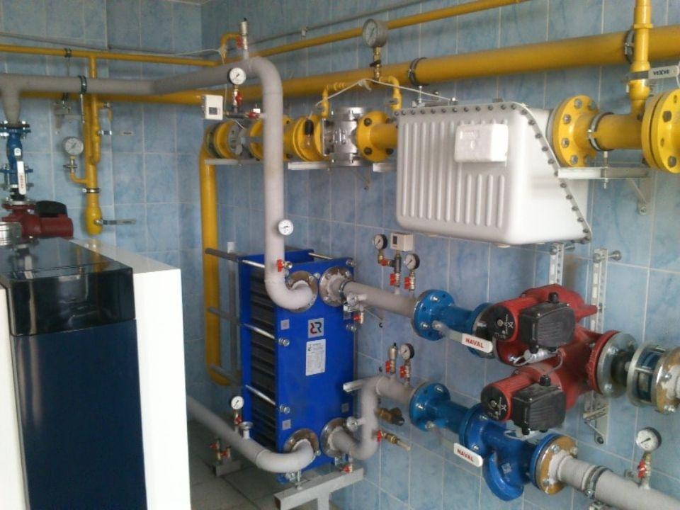 подключение газа к газовому котлу