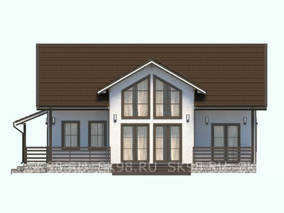 дом с мансардой TWO 141