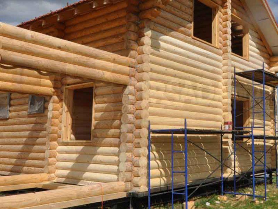 Шлифовка деревянных домов из бруса или бревна. Опыт с 1998 года. Любой регион.