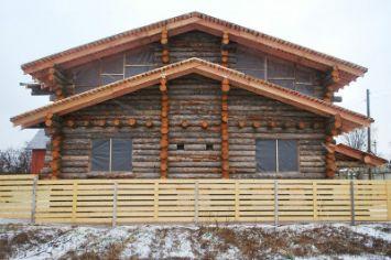 дом из кело | srub-zima.ru +7 (499) 938 92 32