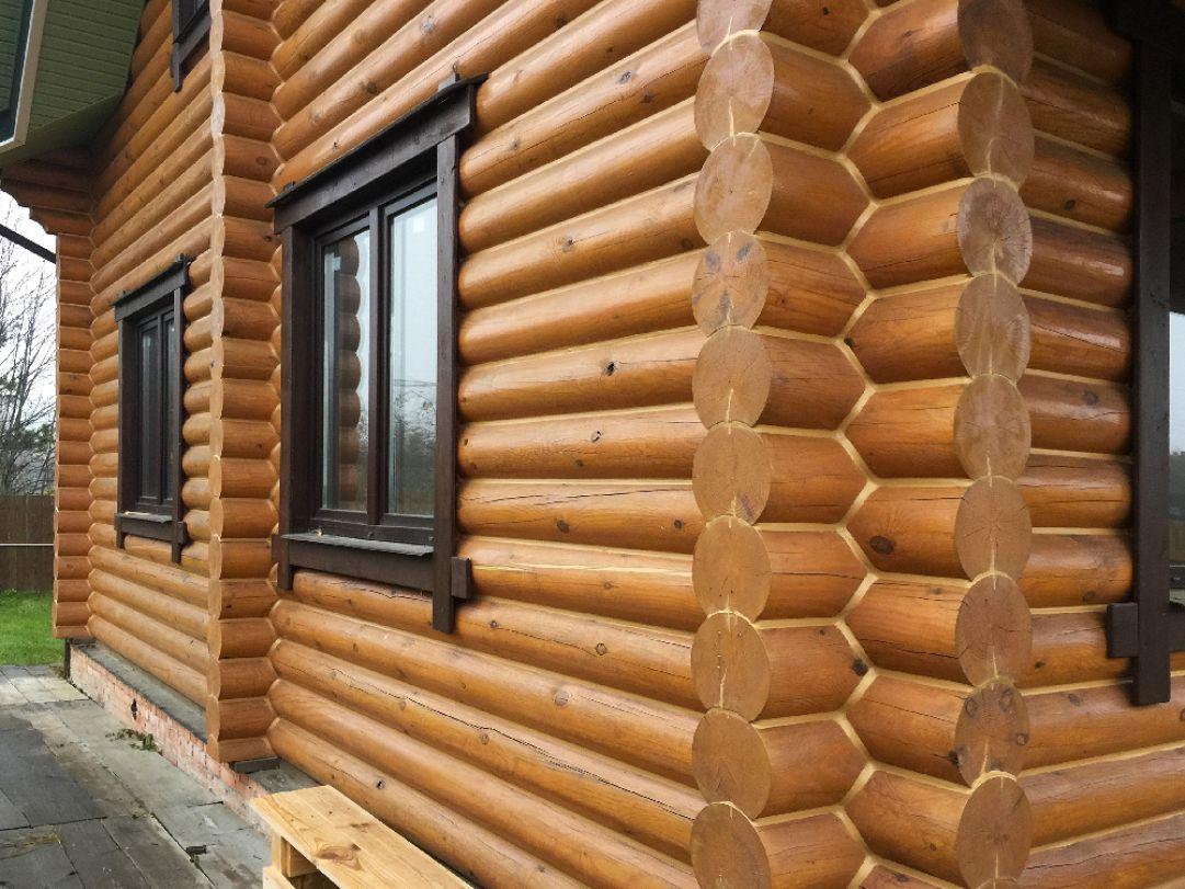 Теплый шов в деревянных домах и срубах из бруса, бревна, лафета